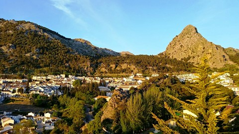 grazalema village andulacia spain walking holiday